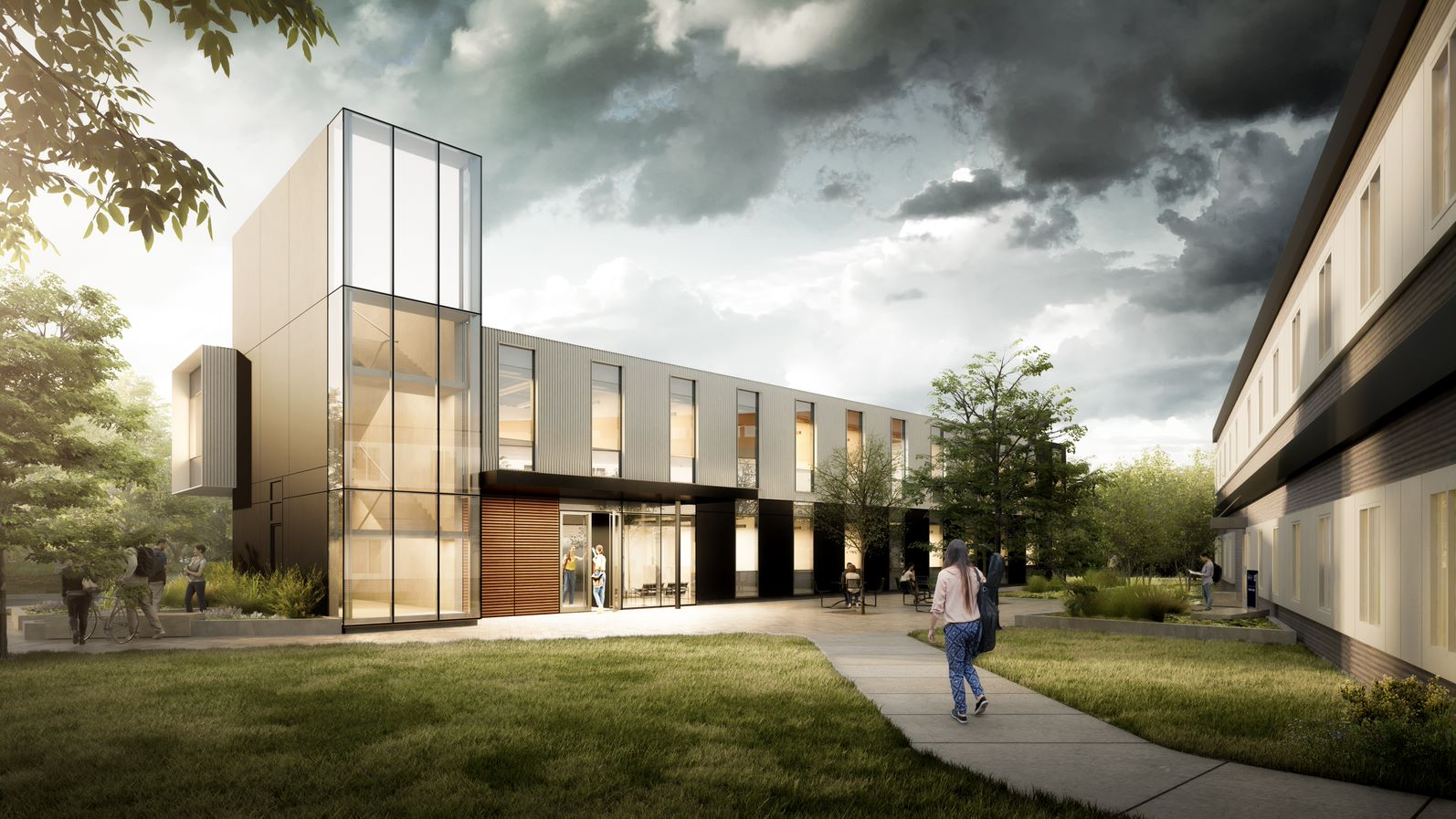 University of Toronto Modular Building Design, Mississauga, Ontario