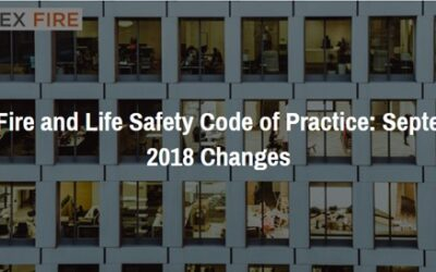 UAE Fire and Life Safety Code of Practice: September 2018 Changes – Course now Available!
